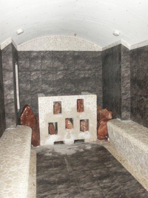 Bagno turco ipersalino di design wellness creation - Bagno di vapore benefici ...